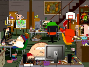 South-Park-Basement-Make-Love-Not-Warcraft